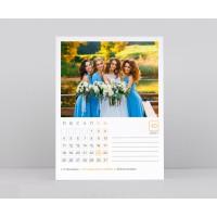 Календар със снимки - Тяло - Вертикално